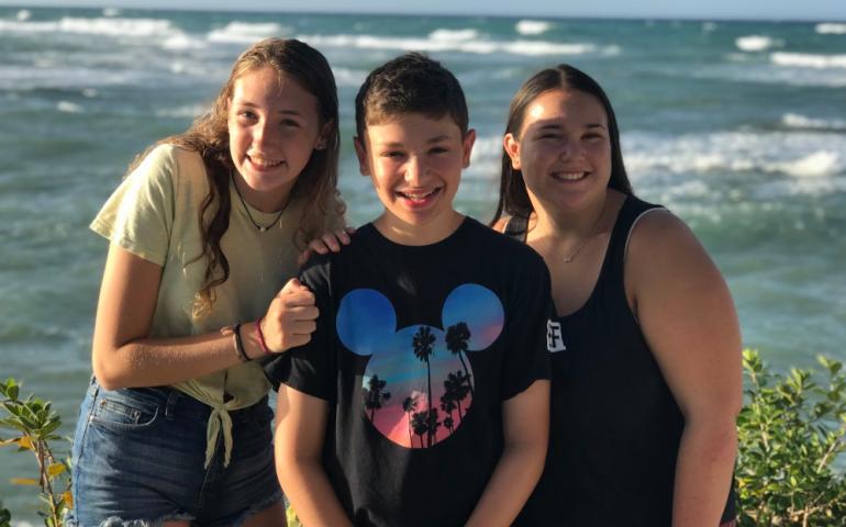 Jewish Teens Exploring Playa Sosua