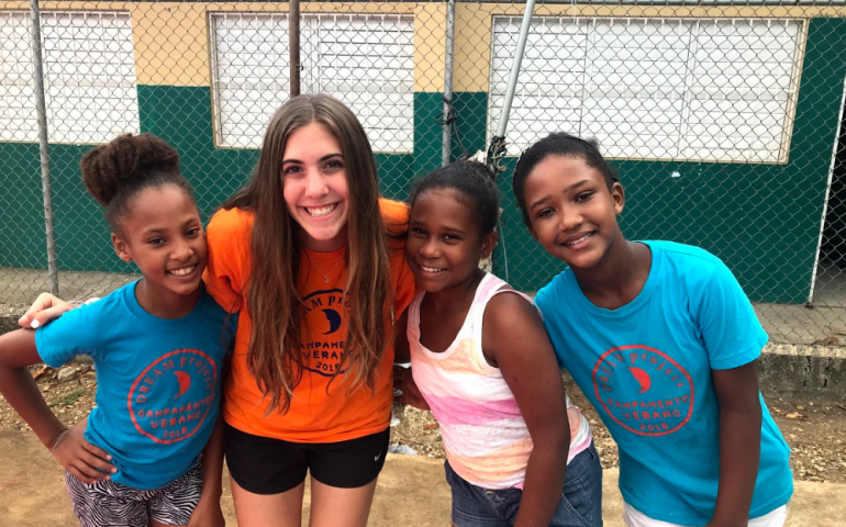 Jewish Teens Volunteering with The DREAM Project in the Dominican Republic