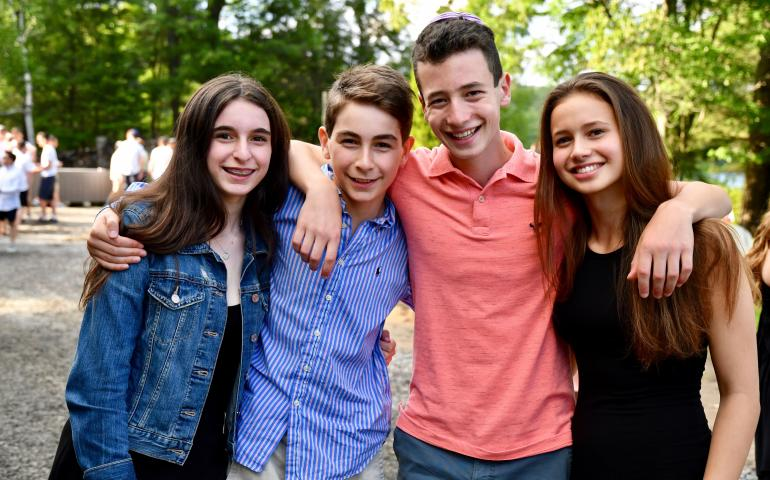 Shabbat at Camp Ramah