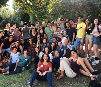 A cohort of Bronfman Fellows