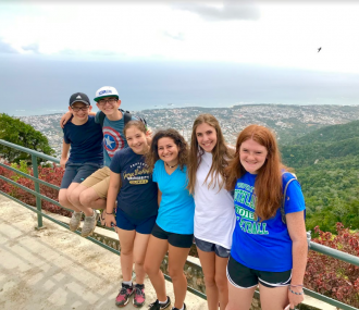 Jewish Teens Exploring and Volunteering in the Dominican Republic