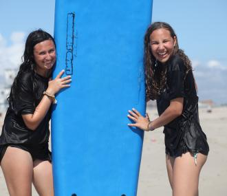 Jewish Teens Sababa Surf Camp